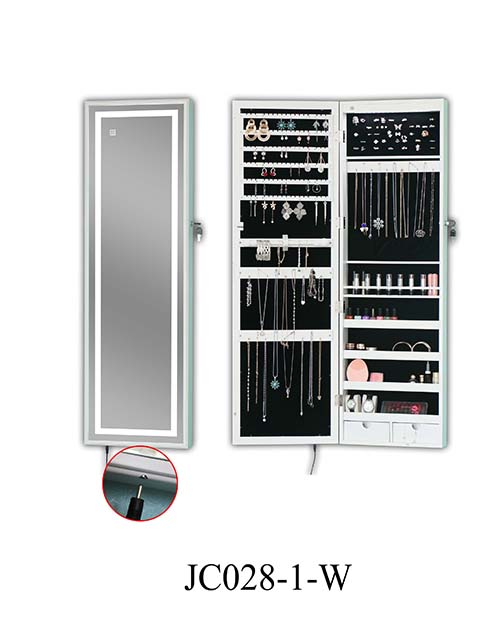 Hot sale jewelry standing storage cabinet  JC028-1-W