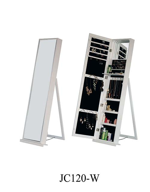 Hotsale jewellery mirror storage cabinet  JC120-B
