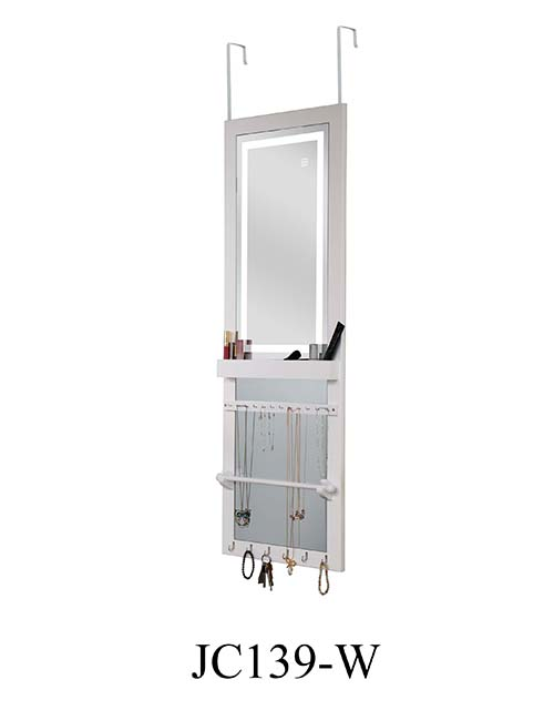 Hotsale mirror jewelry hot cabinet  JC139-W