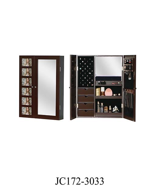 Factory dressing storage jewelry cabinet  JC172-3033