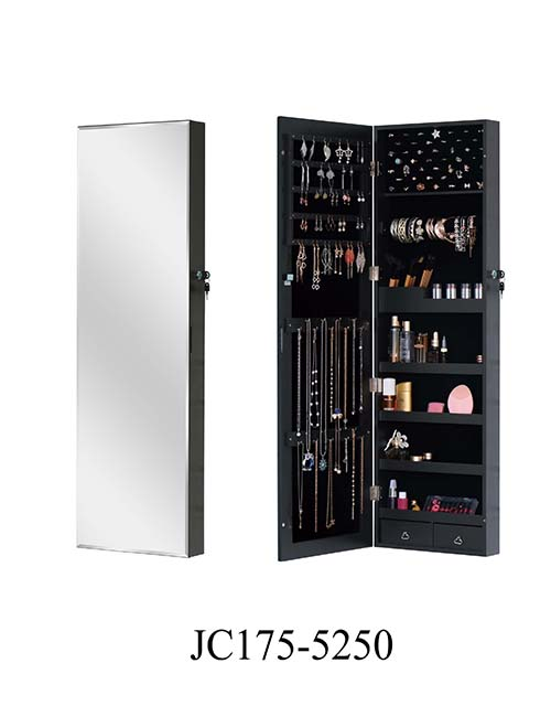 MDF mirror makeup jewelry cabinet  JC175-5250