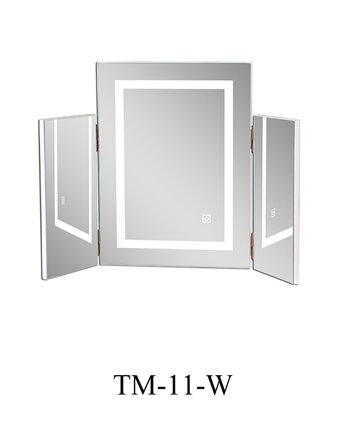 Hot-sell Modern Bathroom Mirror Smart Large Wall LED Mirror With Multi-Function TM-11-W